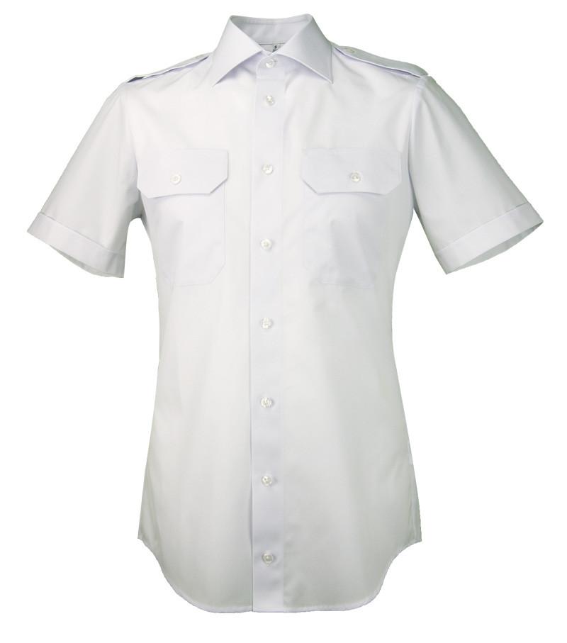 Greiff Pilotenhemd in slim fit mit 80% Baumwolle
